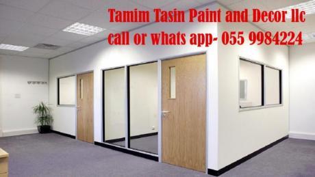 Gypsum Partition Company Sharjah 0559984224